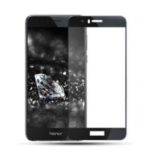 Huawei Honor 8 Lite Panssarilasi 2.5d Full Cover Musta