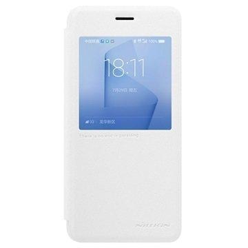 Huawei Honor 8 Nillkin Sparkle View Flip Case White