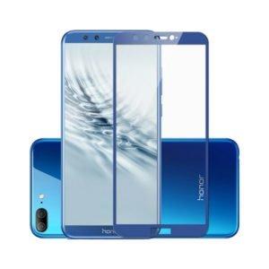 Huawei Honor 9 Lite Panssarilasi 2.5d Full Cover Sininen