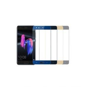 Huawei Honor 9 Panssarilasi 2.5d Full Cover Harmaa