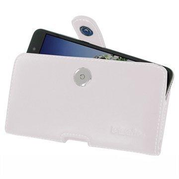 Huawei Honor Holly 3 Honor 5A PDair Vaakasuuntainen Nahkakotelo Valkoinen