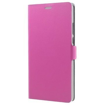 Huawei Honor Note 8 Doormoon Läppäkotelo Kuuma Pinkki