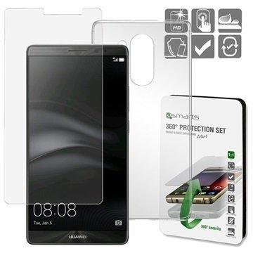Huawei Mate 8 4smarts 360 Suojaussetti Läpinäkyvä