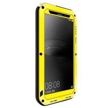 Huawei Mate 8 Love Mei Powerful Hybrid Suojakuori Keltainen