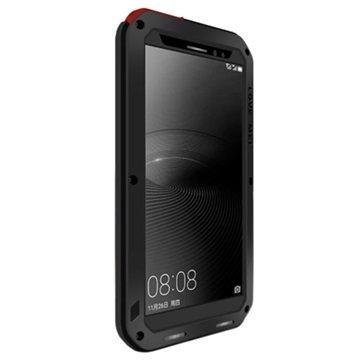 Huawei Mate 8 Love Mei Powerful Hybrid Suojakuori Musta