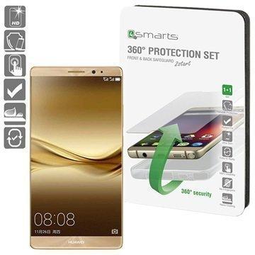 Huawei Mate 9 4smarts 360 Suojaussetti Läpinäkyvä