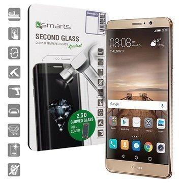 Huawei Mate 9 4smarts Curved Glass Näytönsuoja Musta