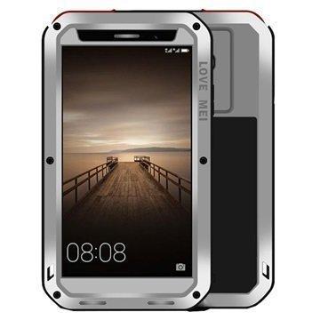 Huawei Mate 9 Love Mei Powerful Case Silver