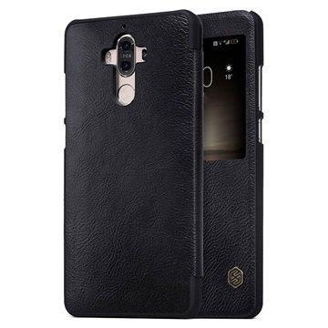 Huawei Mate 9 Nillkin Qin Smart View Flip Case Black