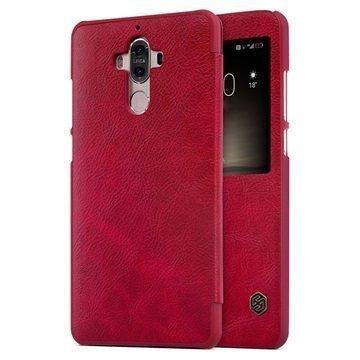 Huawei Mate 9 Nillkin Qin Smart View Flip Case Red