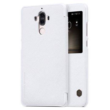Huawei Mate 9 Nillkin Qin Smart View Flip Case White