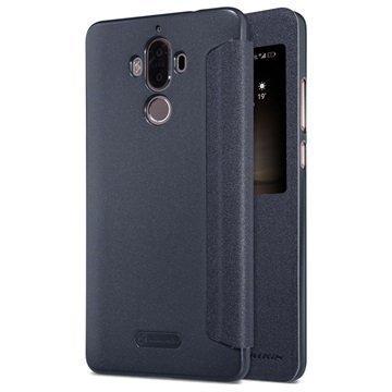 Huawei Mate 9 Nillkin Sparkle Ikkunallinen Kotelo Musta