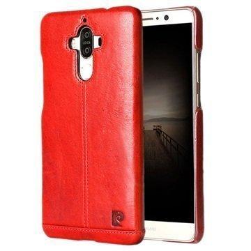 Huawei Mate 9 Pierre Cardin Nahkapinnoitettu Kotelo Punainen