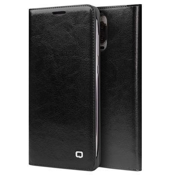 Huawei Mate 9 Pro Mate 9 Porsche Design Qialino Leather Case Black