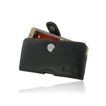 Huawei Mate 9 Pro PDair Vaakasuuntainen Nahkakotelo Musta