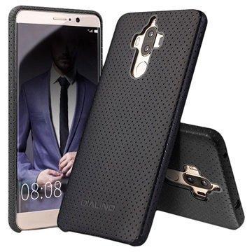 Huawei Mate 9 Qialino Mesh Leather Case Black