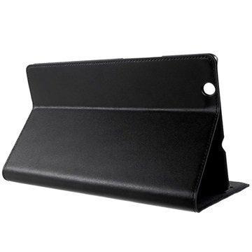 Huawei MediaPad M3 8.4 Doormoon Smart Flip Nahkakotelo Musta