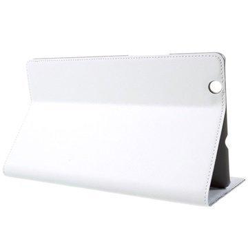 Huawei MediaPad M3 8.4 Doormoon Smart Flip Nahkakotelo Valkoinen