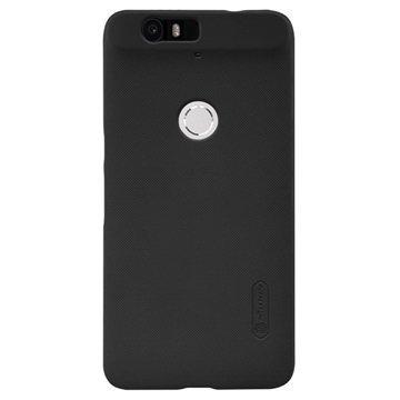 Huawei Nexus 6P Nillkin Super Frosted Suojakotelo Musta