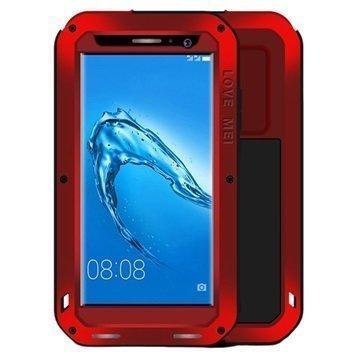 "Huawei Nova Plus G9 Plus Love Mei Powerful Suojakotelo â"" Punainen"
