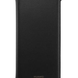 Huawei P Smart 2019 Flip Cover Black Suojakotelo