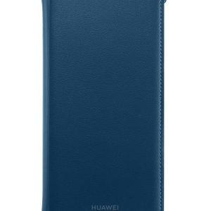 Huawei P Smart 2019 Flip Cover Blue Suojakotelo