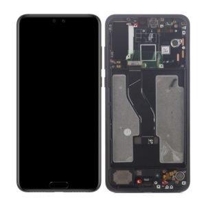 Huawei P20 Pro Näyttö & Runko Musta