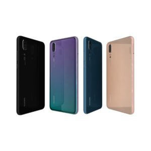 Huawei P20 Pro Takakansi Violetti / Turkoosi