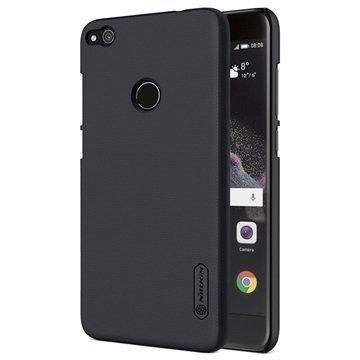 Huawei P8 Lite (2017) Nillkin Super Frosted Shield Kotelo Musta