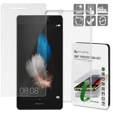 Huawei P8 Lite 4smarts 360 Suojaussetti Läpinäkyvä