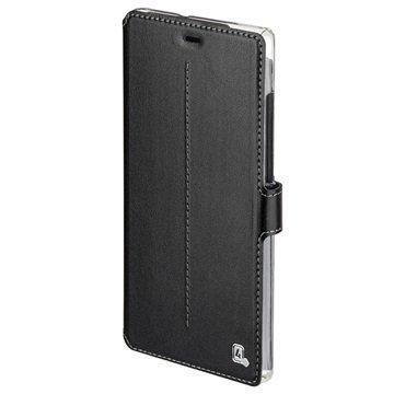 Huawei P8 Lite 4smarts Supremo Book Läppäkotelo Musta