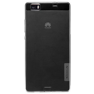 Huawei P8 Lite Nillkin Nature TPU Suojakuori Harmaa