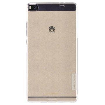 Huawei P8 Nillkin Nature TPU Suojakuori Valkoinen