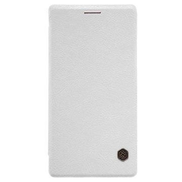 Huawei P8 Nillkin Qin Series Läppäkotelo Valkoinen