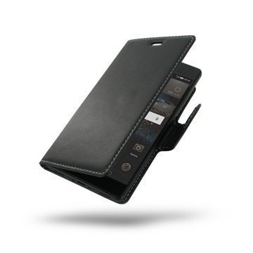 Huawei P8 PDair Leather Case NP3BHWP8B41 Musta