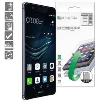 Huawei P9 4smarts 360 Suojaussetti Musta
