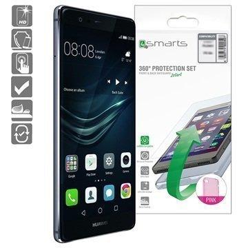 Huawei P9 4smarts 360 Suojaussetti Pinkki