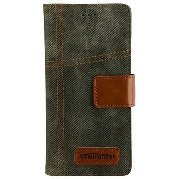 Huawei P9 Commander Book Kuoret Army Jeans