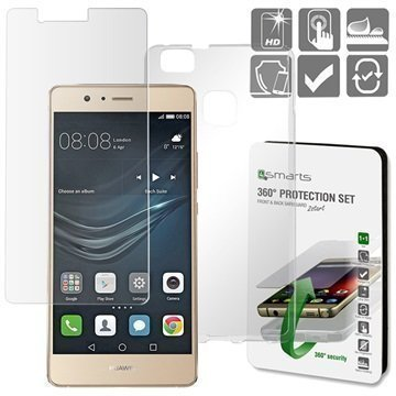 Huawei P9 Lite 4smarts 360 Suojaussetti Läpinäkyvä