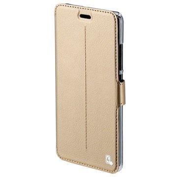 Huawei P9 Lite 4smarts Supremo Book Läppäkotelo Kulta