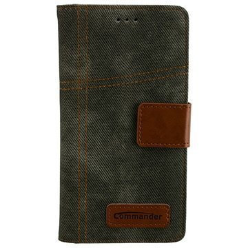 Huawei P9 Lite Commander Book Kuoret Army Jeans