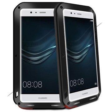 Huawei P9 Love Mei Powerful Suojakuori Musta