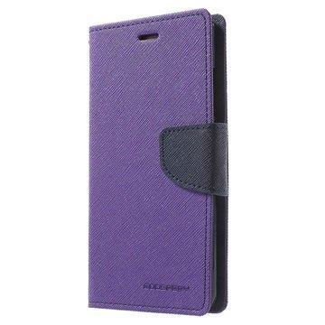 Huawei P9 Mercury Goospery Fancy Diary Lompakkokotelo Violetti