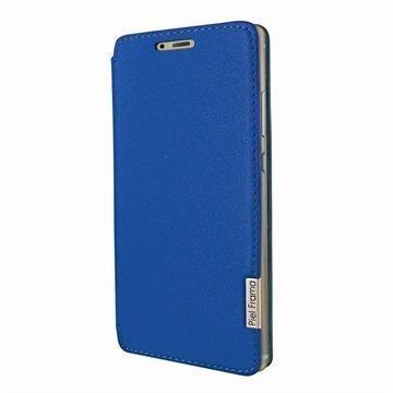Huawei P9 Piel Frama FramaSlim Nahkakotelo Sininen