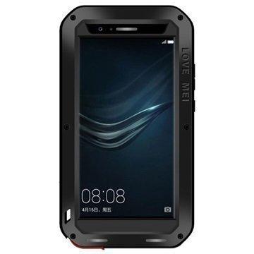 Huawei P9 Plus Love Mei Powerful Suojakuori Musta