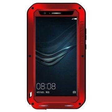 Huawei P9 Plus Love Mei Powerful Suojakuori Punainen