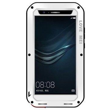 Huawei P9 Plus Love Mei Powerful Suojakuori Valkoinen