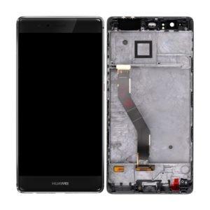 Huawei P9 Plus Näyttö Musta