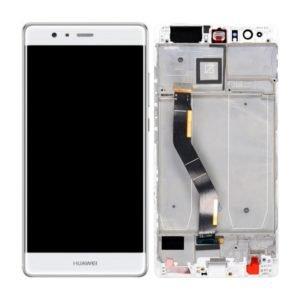 Huawei P9 Plus Näyttö Valkoinen