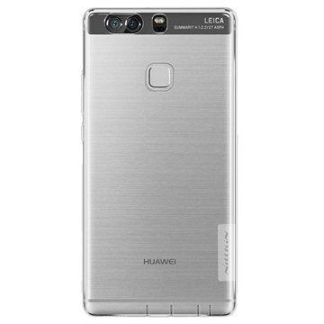 Huawei P9 Plus Nillkin Nature TPU Suojakuori Läpinäkyvä